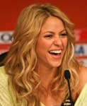 Singer Shakira Attends Press Conference of FIFA World Cup